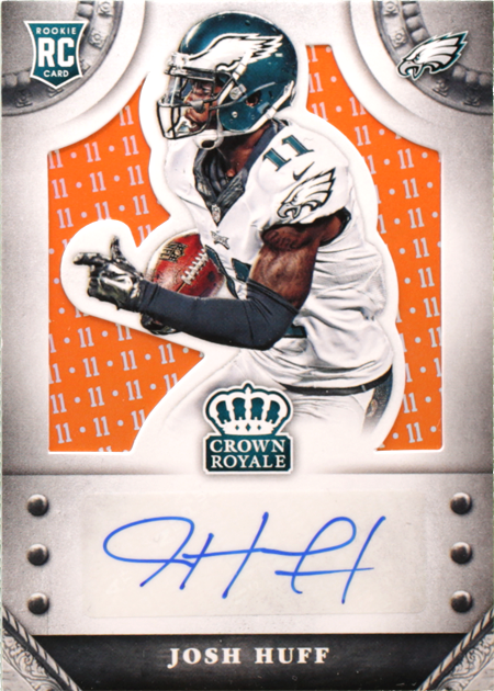 Josh Huff-Crown Royale-Rookies Signatures Retail Jersey Number