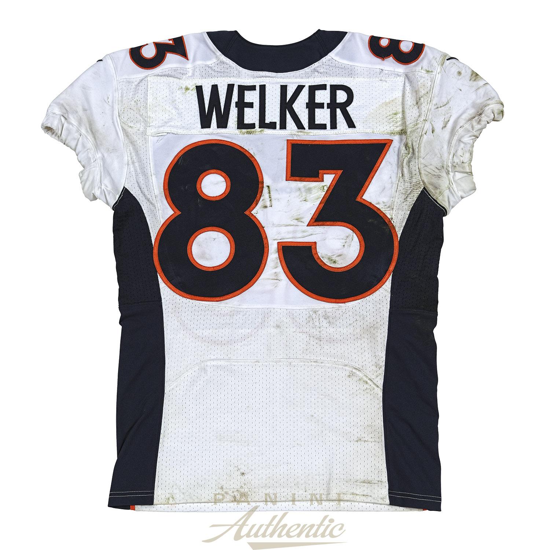 Wes Welker Game Worn Denver Broncos Jersey From 11/9/2014 vs the ...