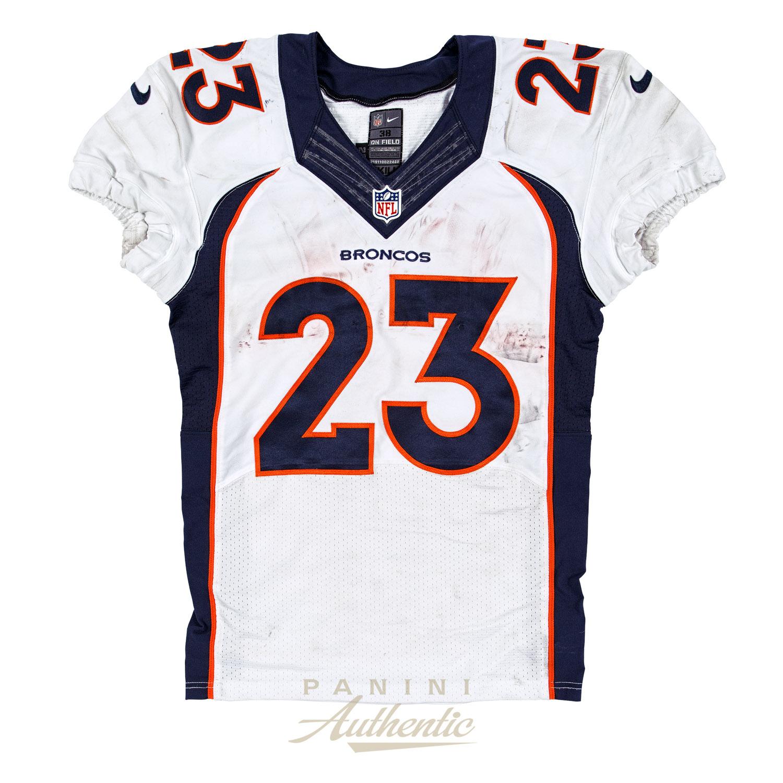 Ronnie Hillman Denver Broncos Game Worn Jersey From 9/27/2015 vs ...