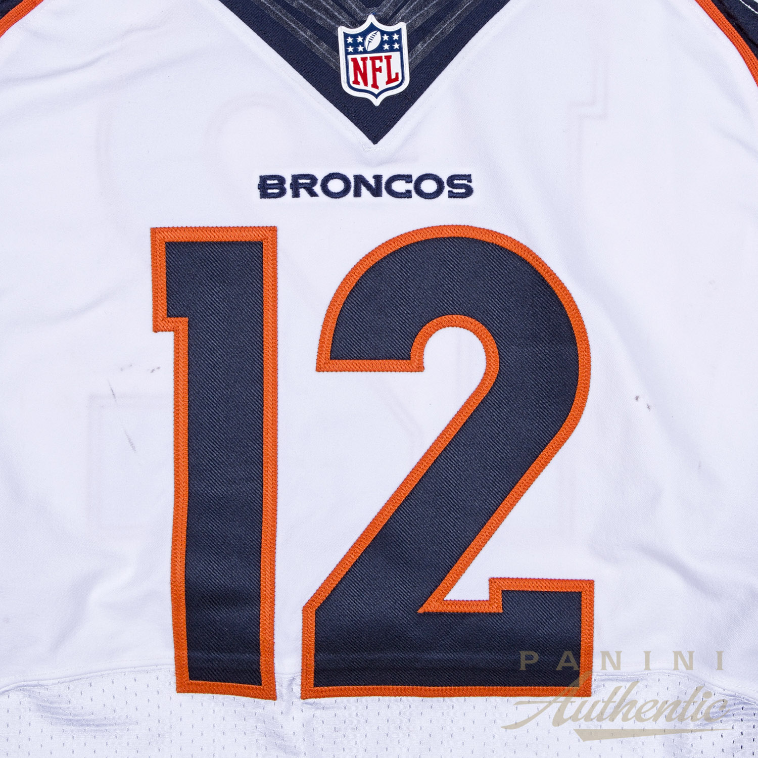 Paxton Lynch Game Worn Jersey From 12/11/16 vs the Tennessee ...