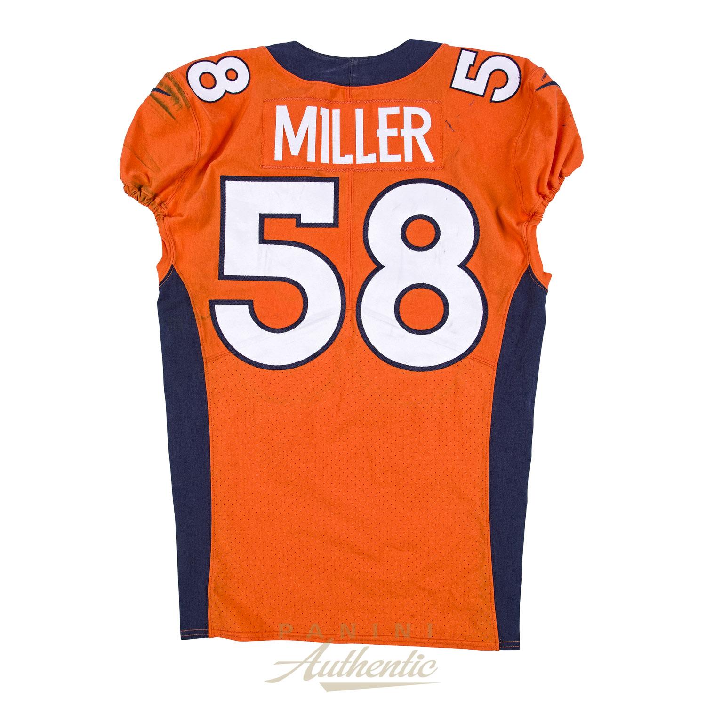 Von Miller Game Worn Jersey From 9/11/17 vs the Los Angeles ...